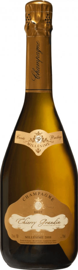 Champagne Thierry Grandin - Millésime 2009
